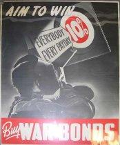 "Image of 4541-492 - Poster; World War II;  ""Buy War Bonds"""