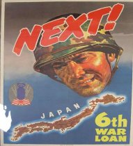 Image of 4541-526 - Poster; World War II; 6th War Loan