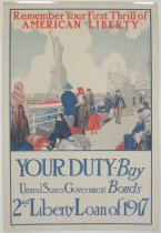 Image of 4541-55 - Poster; World War I; Second Liberty Loan
