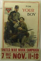 Image of 4541-67B - Poster, World War I, For Your Boy, Y.M.C.A.