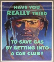Image of 4541-745 - Poster, World War II, Car Club