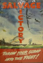 Image of 4541-804 - Poster, World War II, Salvage Victory