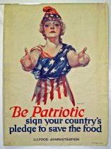 Image of 4753-25-(C) - Poster, World War I, Be Patriotic