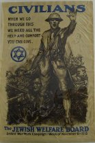 Image of 4753-37 - Poster, World War I, Jewish Welfare Board