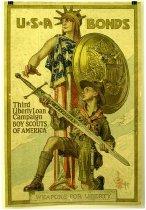 Image of 4753-61 - Poster, World War I, Boy Scouts, Third Liberty Loan