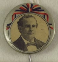 Image of 4769-1 - Button, Political; William Jennings Bryan