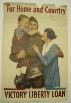 Image of 4810-16 - Poster, World War I, for Home and Country