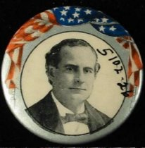 Image of 5102-26 - Button, Political; William Jennings Bryan
