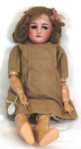 Image of 7010-1048 - Doll; Bisque &  Composition; Girl