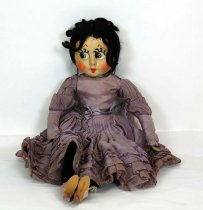 Image of 7010-1049 - Doll; Cloth; Girl