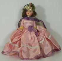 Image of 7010-1288 - Doll; Composition; Queen Elizabeth II, Coronation Doll