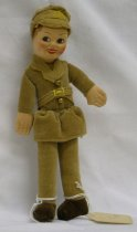Image of 7010-188 - Doll; Cloth; Man; British Armed Forces, Harry, RAF Pilot; Norah Wellings