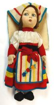 Image of 7010-194 - Doll; Cloth; Girl; Lenci