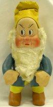 Image of 7010-272 - Doll; Cloth; Grumpy, Snow White and the Seven Dwarfs, (Disney); R. G. Krueger