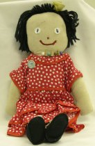 Image of 7010-415 - Doll; Cloth; Girl; Ruffles; The Ruffles Company