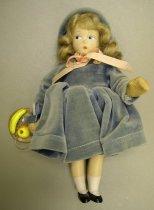 Image of 7010-478 - Doll; Composition; Girl; November Girl