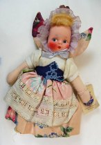 Image of 7010-511 - Doll; Cloth; Girl; Gretchen of Holland; Mollye, International Doll Co.