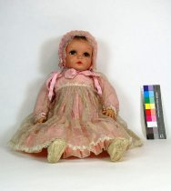 Image of 7010-518 - Doll; Composition & Cloth; Baby; Little Angel; Arrenbee