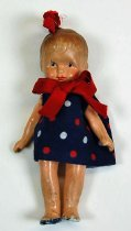 Image of 7010-832 - Doll; Bisque; Girl; Japan