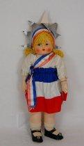 Image of 7010-86 - Doll; Fabric; Girl; Miss America; Gorgene Novelties Inc.