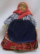 Image of 7010-903 - Doll; Composition and Cloth; Soviet Union