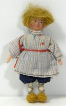 Image of 7010-904 - Doll; Composition and Cloth; Man; Soviet Union