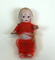 Image of 7010-987 - Doll, Girl; Bisque