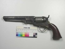 Image of 7135-108 - Revolver, Percussion, Colt Patent Fire Arms Manufacturing Company, Model 1849 Pocket
