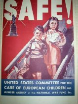 Image of 7294-1364-(2) - Poster, World War II, United States Committee for the Care of European Children