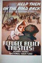 Image of 7294-1367-(1) - Poster, World War II, Refugee Relief Trustees