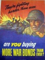 Image of 7294-1378-(2) - Poster, World War II, War Bonds