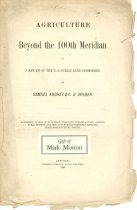 Image of 7294-1009 - Booklet with envelope, Agriculture Beyond the 100th Meridian