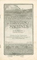 Image of 7294-5010 - Booklet, The Efficient Operation of Threshing Machines