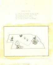 Image of 7294-7038 - Cartoon, Birds Eye View of Nebraska