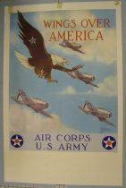 Image of 7294-7337 - Poster, World War II,  Air Corps U.S. Army