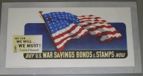 Image of 7294-7361 - Poster, World War II, War Savings Bonds & Stamps