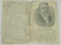 Image of 7294-7448 - Flier, T.M.C. Birmingham, Pender, Nebraska, Prohibition Candidate