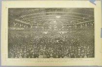 Image of 7294-7564 - Print; William Jennings Bryan; Demonstration in Honor of William Jennings Bryan at Madison Square Garden