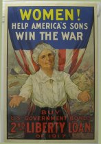 "Image of 7294-7664 - Poster, World War I, Second Liberty Loan, ""Women!"""