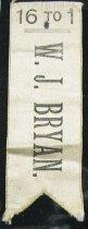 Image of 7390-5 - Ribbon, Political; William Jennings Bryan