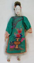 Image of 7403-66 - Doll; Wood; Woman; Chinese