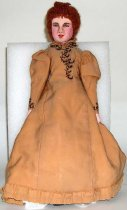 Image of 7431-1 - Doll; Cloth; Woman; Minnie Freeman