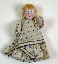 Image of 7528-22 - Doll; Bisque; Girl; Germany