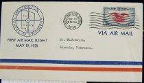 Image of 7721-117 - Cover, Postal, National Airmail Week, Hartington, Nebraska