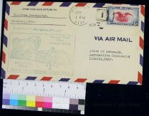 Image of 7721-161 - Cover, Postal, National Airmail Week, Mitchell, Nebraska