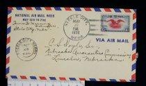 Image of 7721-222 - Cover, Postal, National Airmail Week, Steele City, Nebraska