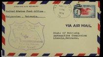 Image of 7721-244 - Cover, Postal, National Airmail Week, Valparaiso, Nebraska