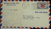 Image of 7721-250 - Cover, Postal, National Airmail Week, Wakefield, Nebraska