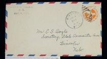 Image of 7721-260 - Cover, Postal, National Airmail Week, Winside, Nebraska