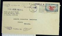 Image of 7721-34 - Cover, Postal, National Airmail Week, Big Springs, Nebraska
